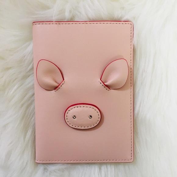 kate spade Handbags - Kate Spade piggy passport holder
